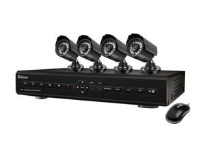 Swann SWDVK-825504-US 8 Channel 8 Channel Networking Digital Video Recorder & 4 x PRO-580 Camera