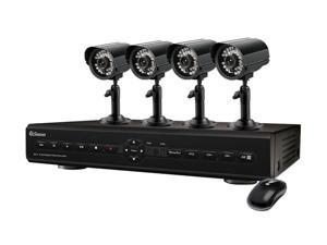 Swann SWDVK-825504C 8 Channel Digital Video Recorder w/ 4 x ADS-180 Cameras