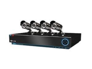 Swann SWDVK-430004-US 4 Channel DVR4-3000 TruBlue D1 Digital Video Recorder & 4 x PRO-530 Cameras