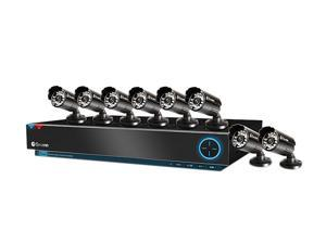 Swann SWDVK-830008-US 8 Channel DVR8-3000 TruBlue D1 Digital Video Recorder & 8 x PRO-530 Cameras