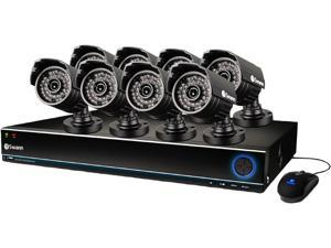 Swann SWDVK-163208S-US 16 Channel 960H H.264 Level Surveillance DVR Kit w/ 1TB HDD and  8 x 700TVL, 85' Night Vision, IP67 Outdoor Camera