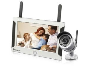 Swann NVW-470KIT All-in-One SwannSecure - Wi-Fi HD 720P Monitoring System w/ Monitor & Day/Night IP Camera