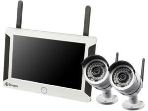 Swann NVW-470PK2 All-in-One SwannSecure - Wi-Fi HD 720P Monitoring System w/ Monitor & Day/Night IP Camera