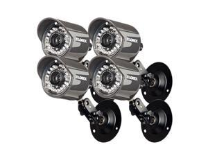 Lorex CVC7660PK4B 4 Pack Super+ Resolution Weatherproof Surveillance Camera