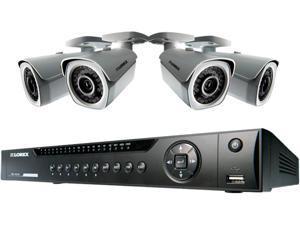 Lorex LNR4082TC4B 8 Channel 8-channel NVR With 4 POE 1080P HD IP Bullet Cameras