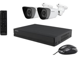 SAMSUNG SDS-P3022 960H H.264 Level DVR Kits w/ 500GB HDD, 2 x 720TVL Day/Night Outdoor Camera