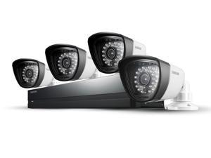 SAMSUNG SDS-P3042n 4 Channel 960H Security System w/ 500GB Hard Drive, 4 720TVL  Cameras, and 82' Night Vision