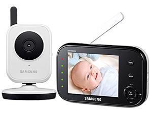 SAMSUNG SEW-3036WN BabyVIEW Baby Monitoring System IR Night Vision Zoom 3.5 inch