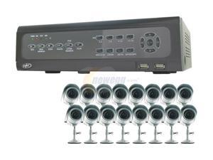 SVAT CV501-16CH-006 16 Channel H.264 Level Surveillance DVR