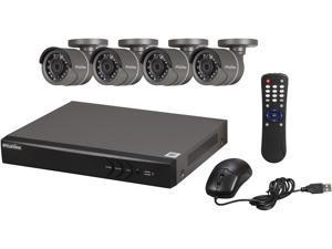LaView LV-KH944FT4A8 Premium 1080p / 720p HD DVR 4 Channel TVI Security System w/ 4 HD 720p Night Vision Outdoor Camera