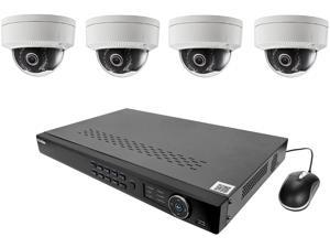 LaView LV-KNT982D22D4 4MP zoom HD 8 Channel NVR PoE IP Security System