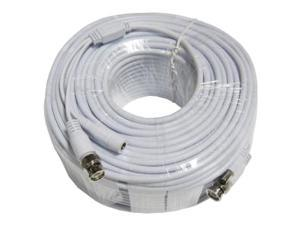 Q-See Shielded Video & Power 200 Feet RG59 BNC Male Cable with 2 Female Connectors (QSVRG200)