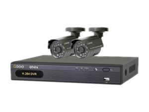 Q-See QT474-211-5 4 Channel Surveillance DVR