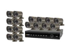 Q-See QT426-618-5 16 Channel Surveillance DVR Kit