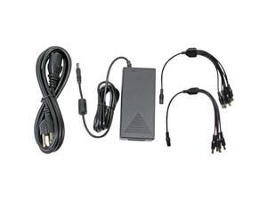 Q-See QSS1250A 12V 5AMP Camera Power Adapter with 4-way and 8-way Power Splitters