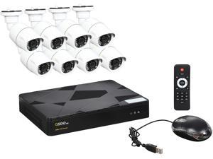 Q-See 8-Channel PoE IP Surveillance System with 8 Full HD 1080p Cameras (QT868-8BC)