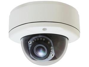 LevelOne H.264 5-Mega Pixel Vandal-Proof FCS-3083 PoE WDR IP Dome Network Camera (Day/Night/Indoor/Outdoor), TAA Compliant