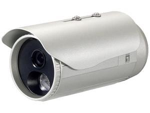 LevelOne H.264 3-Mega Pixel FCS-5053 PoE IP Network Camera w/IR (Day/Night/Outdoor), TAA Compliant