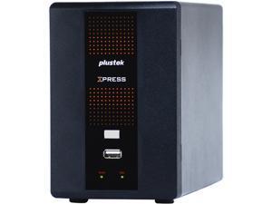 "Plustek NX840P-EW2-00HD-000 1 x 3.5"" SATA HDD Bay (max capacity: 4TB) X840P Standalone 4 Channel NVR Barebone"