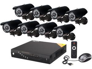 Aposonic A-BR18B8-C500 8 Channel Surveillance DVR