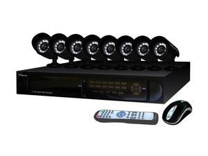 Night Owl H.264 Internet & 3G Phone Accessible 16 channel DVR w/ 8 Night Vision Cameras & 500GB HD (Scorpion-168500)