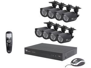 Night Owl P-165-8624N 16 Channel Video Security Kit with 500GB HDD and 8 Hi-Resolution Indoor/Outdoor Cameras