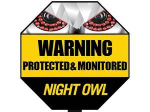 Night Owl A-GYSS Reflective Outdoor Yard Stake Sign