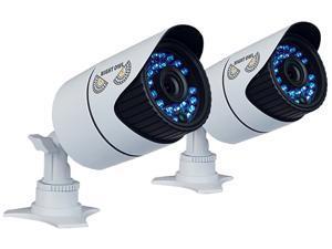 Night Owl CAM-2PK-930-B 900 TVL 2-PK Bullet High Resolution  Cameras with 100 ft Night Vision