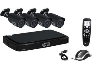 Night Owl B-A720-41-4 4 Channel Smart HD Video Security System w/ 1TB HDD and 4 x 720p AHD Cameras