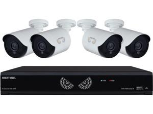 NightOwl 8 Channel 1080 Lite HD Analog Video Security System with 1TB HDD and 4 x 1080p HD Wired Cameras