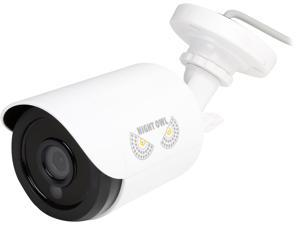 NightOwl 1080p HD Analog White Audio Enable Bullet Camera with 100 ft. Night Vision & 60ft. of cable (compatible with all HDA Analog Night Owl Systems)