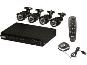 KGuard NS801-4CW214H 8 Channel Surveillance DVR Kit