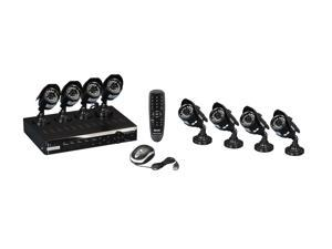 KGuard NS801-8CW214H 8 Channel Surveillance DVR Kit