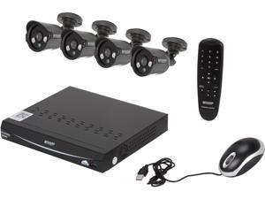 KGuard EL821-4HW212B-500G 8 Channel Surveillance DVR Kit