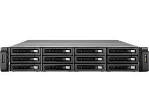QNAP VS-12140U-RP-PRO+-US 12 Bay 2U 40 Channel Redundant Power NVR