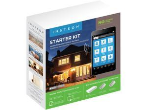 INSTEON 2244-224 Home Automation Starter Kit - Includes Hub & 2 Plug-in Dimmer Modules, No Monthly Fees