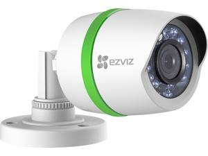 EZVIZ 1080p Weatherproof Bullet Analog Camera with One 60-Foot Video and Power Cable