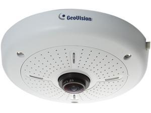 GeoVision GV-FE4301 2048 (H) x 1944 (V), 1440(H) x 1376 (V) MAX Resolution RJ45 4MP H.264 WDR Fisheye IP Camera