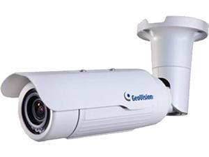 GeoVision GV-BL2500 2MP High Resolution Bullet IP Camera, 3 ~ 9mm Varifocal Lens, 50 m (164 ft) IR Distance Color Night Vision, IP67 Ingress Protection Rated, IK10 Vandal Resistance