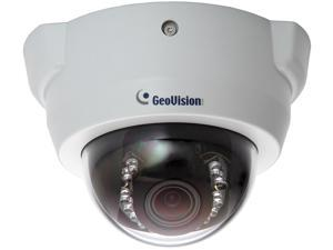 GeoVision GV-FD1500 1.3MP IP Dome Indoor Security Camera, 3 ~ 9mm Varifocal Lens,  Super Low Lux Color Night Vision