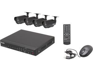 Zmodo PKD-DK40107 4 Channel Surveillance DVR Kit