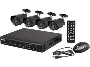 Zmodo PKD-DK40107-500GB 4 Channel Surveillance DVR Kit