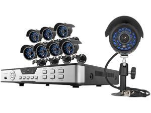 Zmodo KDB8-CARQZ8ZN 8 Channel Surveillance DVR Kit