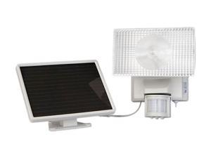 Maxsa 40225 Motion-Activated 80 LED Security Floodlight -white