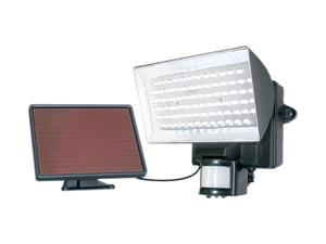 Maxsa Solar-Powered Motion-Activated 80 LED Floodlight, Black (40226)