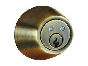 Morning Industry RF-01AQ Antique Brass Remote Control Electronic Deadbolt