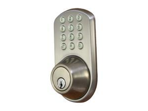 Morning Industry HF-01SN Touchpad Dead Bolt For Keyless Entry Into A Home