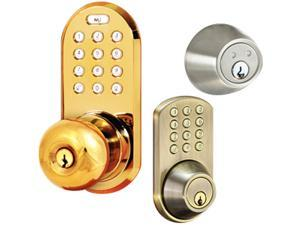 Morning Industry HF-01AQ Touchpad Dead Bolt For Keyless Entry Into A Home