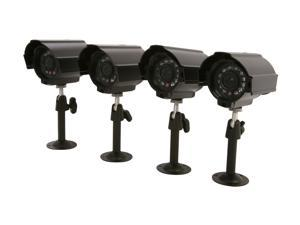 Vonnic VCB4PKD 4-Pack Outdoor Night Vision Bullet Camera