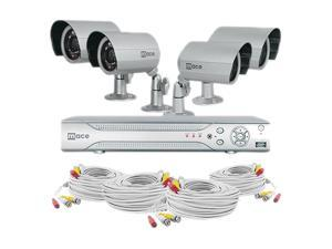 Mace MVK-SQ4CH4CAMB 4 Channel DVR and 4 IR Bullet Cameras
